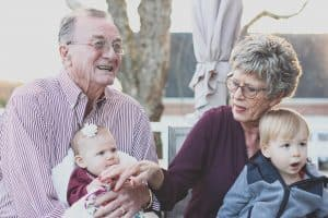 Grandparents Over 65 Happy with a Guranteed Life Policy