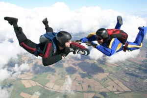 Sky DivSky Divers Pay Higher Premium as this is a Risky Hobby